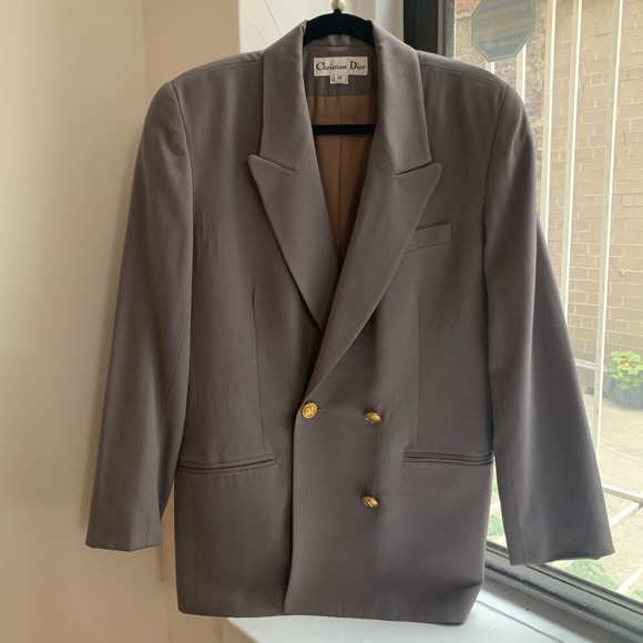 Christian Dior | Double Breasted Blazer